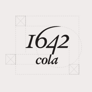 logo 1642 cola et zone de protection