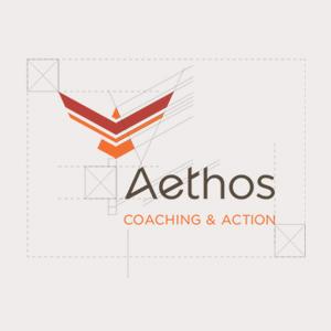 Logo Aethos et ses zones de protection