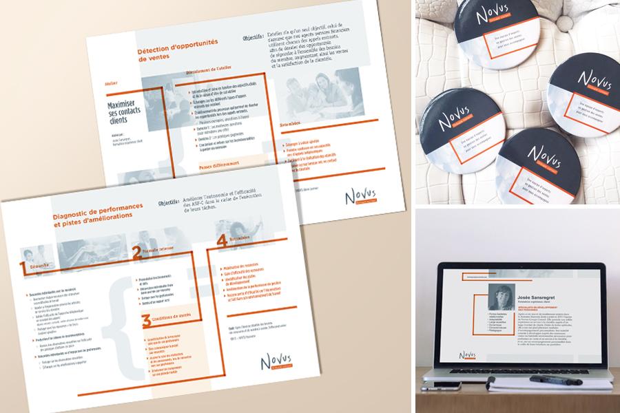 Fiches et outils de communication Novus