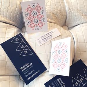 Autocollant et mini-cartes Marie-Ève Archambault