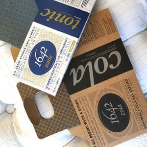 emballage mixte 1642 Cola et Tonic
