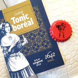 carte promo 1642 Tonic et bouchon 1642 Ginger