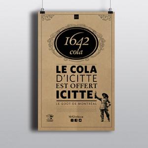 Affiche 1642 Cola