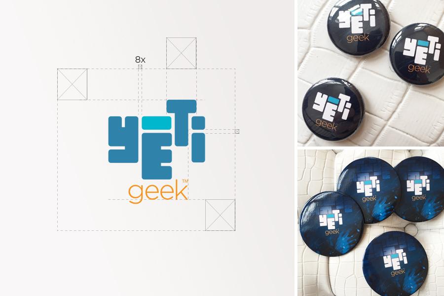 Yéti Geek, branding