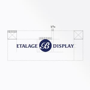 Etalage B, logo