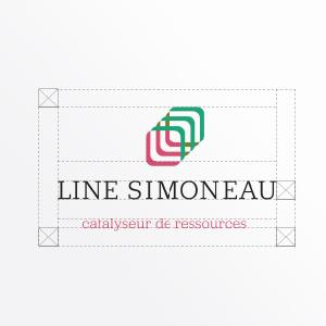 Line Simoneau, logo